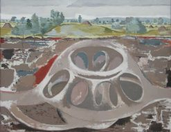 Earth Home(also known as The Fortress) | Paul Nash | Oil Painting