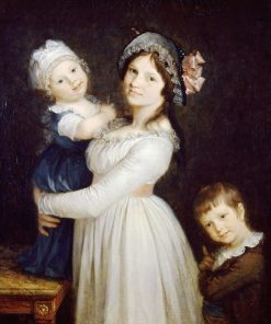Portrait of Madame Anthony with her Children | Pierre Paul Prud'hon | Oil Painting