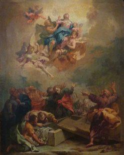 Assumption of the Virgin | Francesco Solimena | Oil Painting