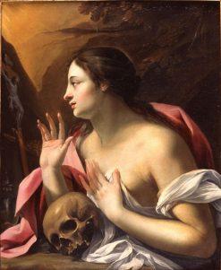 The Penitent Madeleine | Nicolas Chaperon | Oil Painting