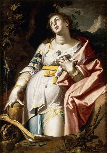 The Penitent Magdalene | Abraham Bloemaert | Oil Painting