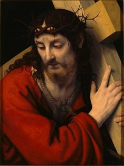 Christ Carrying the Cross | Andrea Solario | Oil Painting