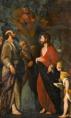 La conversion de Zachée | Bernardo Strozzi | Oil Painting