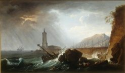 Storm at Sea | Claude Joseph Vernet | Oil Painting