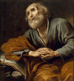 Saint Peter Repentant | Claude Vignon | Oil Painting