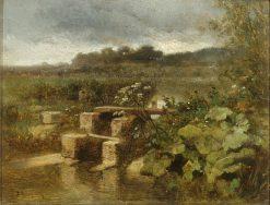 Landscape in La Vanne | Constant Troyon | Oil Painting