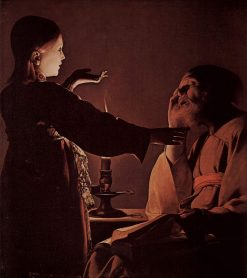 The Dream of Saint Joseph | Georges de La Tour | Oil Painting