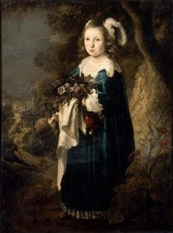 Portrait of a Young Girl | Govaert Flinck | Oil Painting