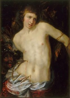Saint Sebastian | Hendrick Goltzius | Oil Painting