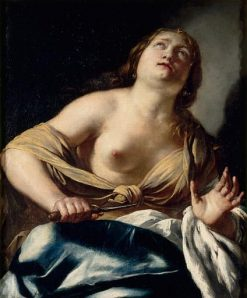 The Death of Lucretia | Jacques Blanchard | Oil Painting