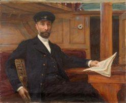 Portrait de Rogatien Levêque | Paul Emile Chabas | Oil Painting