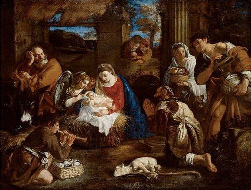 Adoration of the Magi | Pier Francesco Mola | Oil Painting