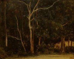 Gorges d'Apremont in Fontainbleau | Jean Baptiste Camille Corot | Oil Painting