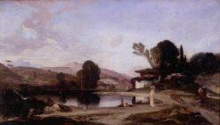 Souvenir of Turkey | Alexandre Gabriel Decamps | Oil Painting