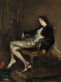 Le chérubin de Mozart(also known as Désirée Manfred) | Jacques Emile Blanche | Oil Painting