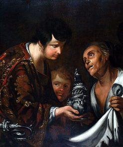 La Charité de Saint Laurent | Bernardo Strozzi | Oil Painting