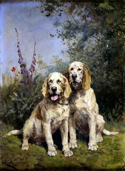 Working Dogs | Charles Olivier de Penne | Oil Painting