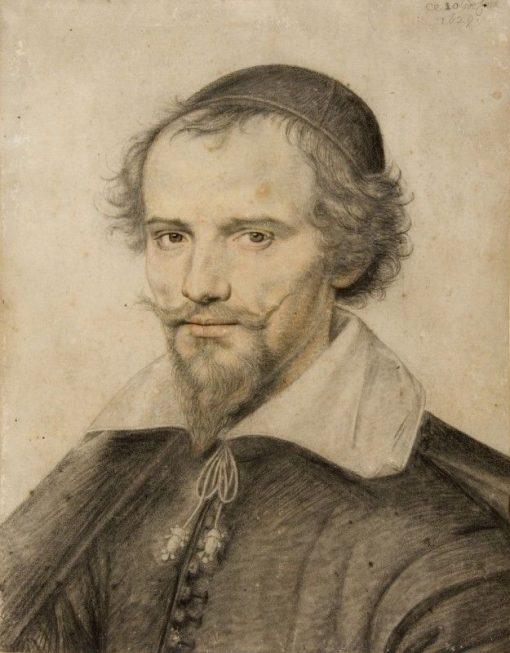 Portrait d'Homme (Portrait of a Man) | Daniel Dumonstier | Oil Painting
