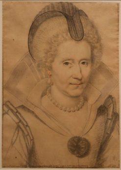 Portrait d'une femme agée