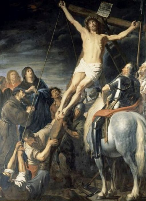 The Raising of the Cross | Gaspard de Crayer | Oil Painting