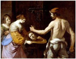 Salome Reciving the Head of John the Baptist | Guercino | Oil Painting