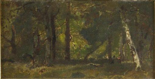 Under the Trees   Narcisse Dìaz de la Peña   Oil Painting