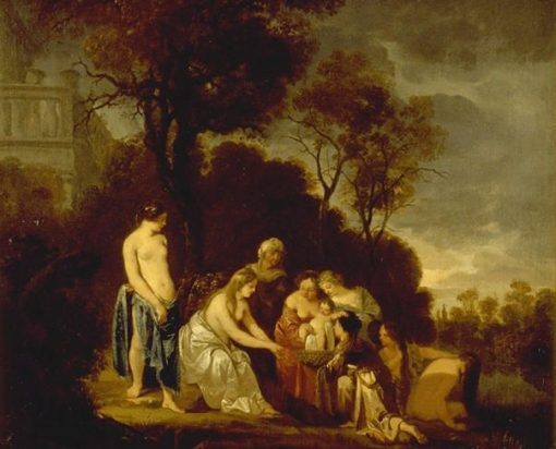 Moses in the Bullrushes | Peter Lely | Oil Painting