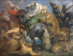 La Chasse au Tigre | Peter Paul Rubens | Oil Painting