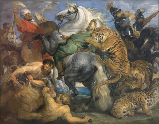 La Chasse au Tigre | Peter Paul Rubens | Oil Painting