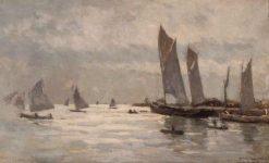 En rade de La Rochelle | Albert Lebourg | Oil Painting