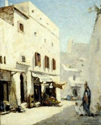 A Street in Algers | Albert Lebourg | Oil Painting