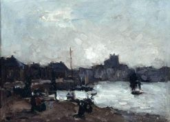 View of Dieppe | Albert Lebourg | Oil Painting