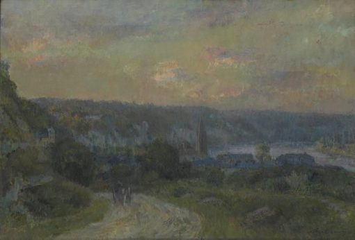 Crepuscule a la bouille (Twilight Scene) | Albert Lebourg | Oil Painting