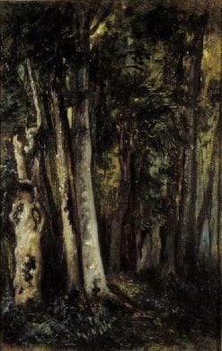 Forest of Fontainbleau | Alexandre Gabriel Decamps | Oil Painting