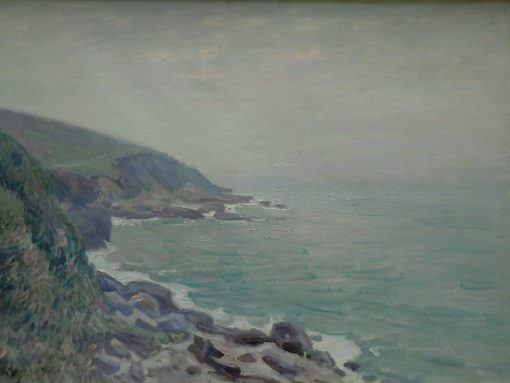 The Coast of Wales in the Fog | Alfred Sisley | Oil Painting
