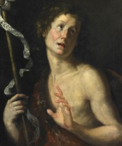 Saint John the Baptist | Bernardo Strozzi | Oil Painting