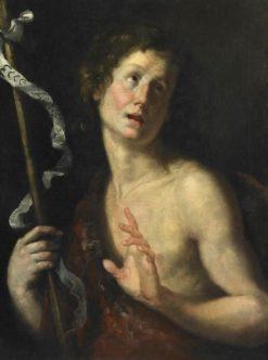 Saint John the Baptist | Bernardo Strozzi | Oil Painting