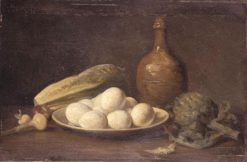 Still Life | Charles Emile Jacque | Oil Painting