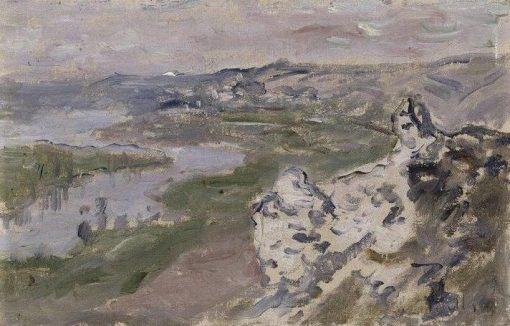 The Seine: View from the Heights of Chantemesle | Claude Monet | Oil Painting