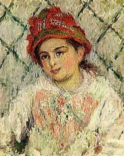 Portrait of Blanche Hoschede at 14 years of Age | Claude Monet | Oil Painting