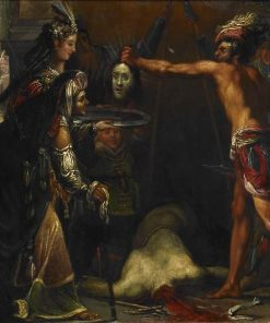 Salome Receives the Head of John the Baptist | Claude Vignon | Oil Painting