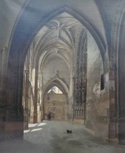 Interior View of the Church of Saint-Germain-l'Auxerrois | Etienne Bouhot | Oil Painting