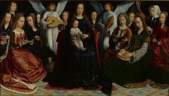 Virgin Among the Virgins | Gheeraert Gerard David | Oil Painting