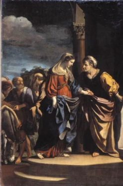 The Visitation | Guercino | Oil Painting