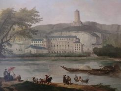 View of the Chateau of Roche-Guyon   Hubert Robert   Oil Painting