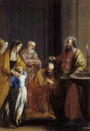 The Baptism | Jacques Blanchard | Oil Painting