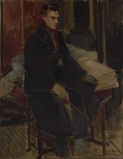 Study for a Full-Length Portrait of Raymond Radiguet | Jacques Emile Blanche | Oil Painting