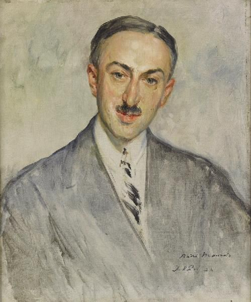 Study for the Portrait of André Maurois | Jacques Emile Blanche | Oil Painting