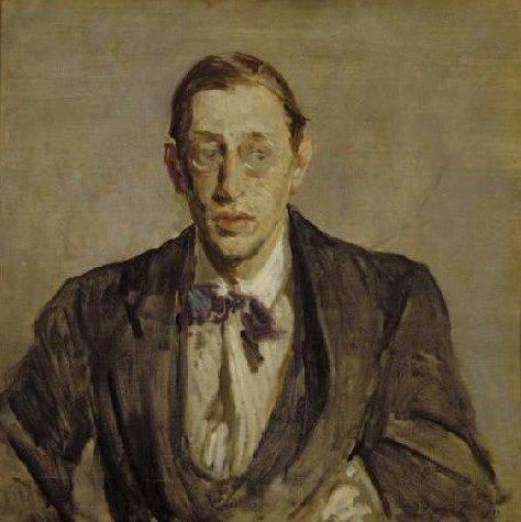 Study for the Portrait of Igor Stravinsky | Jacques Emile Blanche | Oil Painting