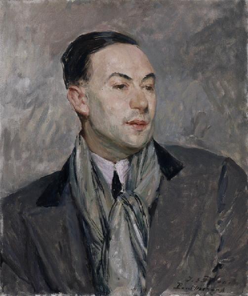 Study Portrait of Paul Morand   Jacques Emile Blanche   Oil Painting